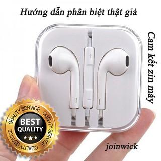 Tai nghe iPhone 6s/6s Plus Apple EarPods zin theo máy - Cam kết zin theo máy