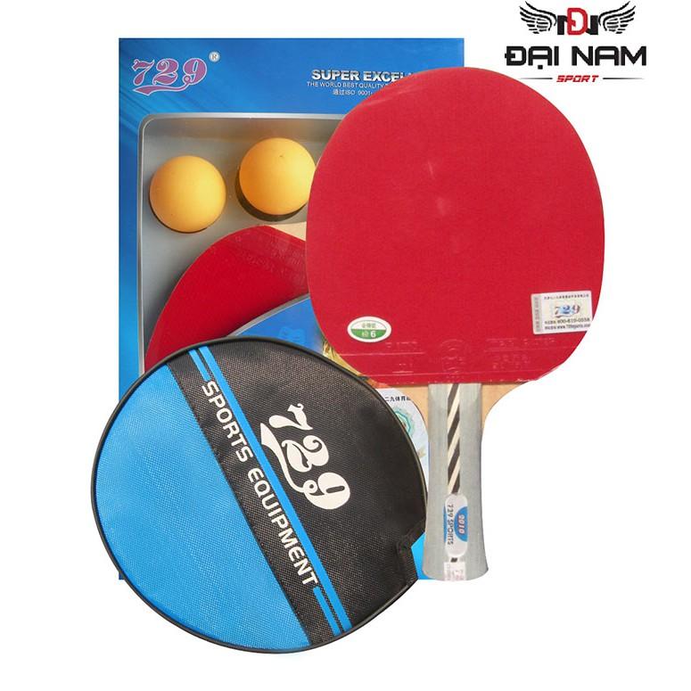 Vợt đánh bóng bàn 729-2010 + Tặng 2 quả bóng vs túi đựng vợt