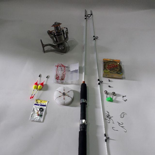 bộ cần câu cá 2 khúc và máy lc 5000 kèm phụ kiện - 3493596 , 1209505507 , 322_1209505507 , 330000 , bo-can-cau-ca-2-khuc-va-may-lc-5000-kem-phu-kien-322_1209505507 , shopee.vn , bộ cần câu cá 2 khúc và máy lc 5000 kèm phụ kiện