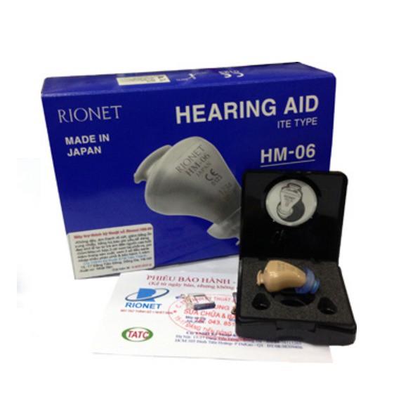Máy trợ thính kĩ thuật số Rionet HM-06