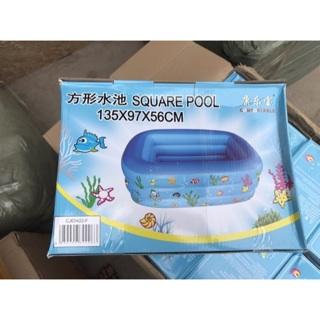 [SHOCK] FREESHIP 99K TOÀN QUỐC_Bể bơi 3 tầng dài 1m35x97x56cm hàng dày..
