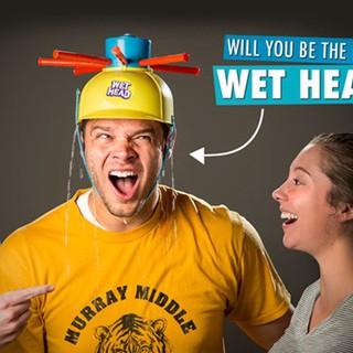 Game Wet Head Water Roulette WET HEAD CHALLENGE Wet Water Challenge Cap