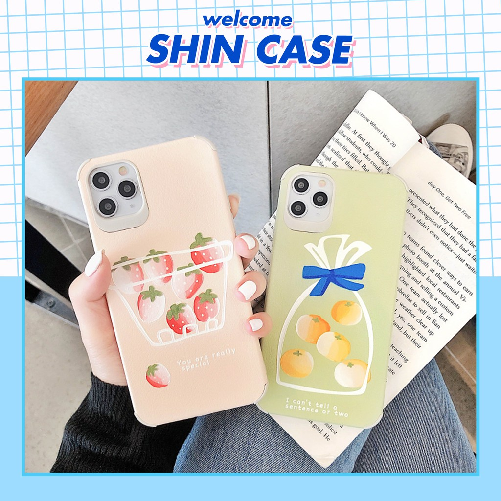 Ốp lưng iphone Giỏ trái cây 5/5s/6/6plus/6s/6s plus/6/7/7plus/8/8plus/x/xs/xs max/11/11 pro/11promax/samsung - Shin Case