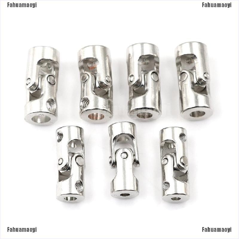 fahuamaoyi.th RC Boat Metal Cardan Joint Gimbal Couplings Universal Joint Accessories