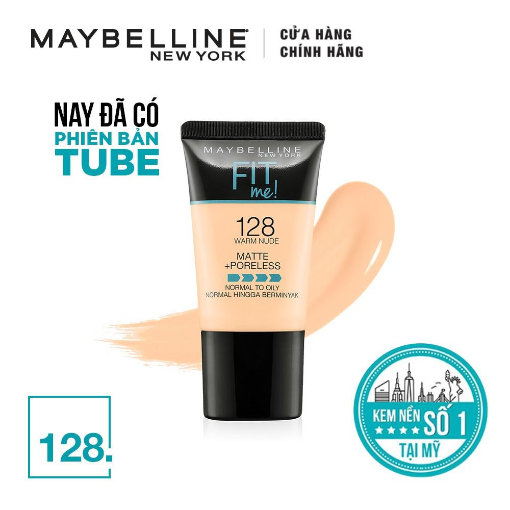 Hình ảnh Kem nền lì mịn tự nhiên Maybelline Fit Me Tube 18 ml-1