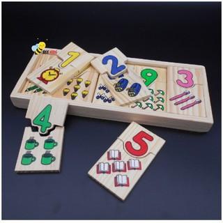 Yêu ThíchHộp Học Đếm Và Ghép Số Cho Bé Hàng VN- Đồ chơi toán học