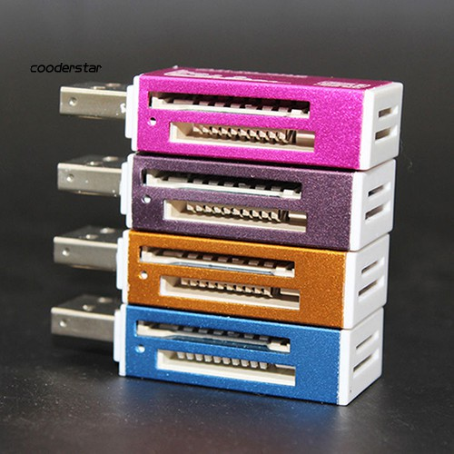 Đầu Đọc Thẻ Nhớ Micro Sd Sdhc Tf M2 Mmc Ms Ms Pro Cổng Usb 2.0