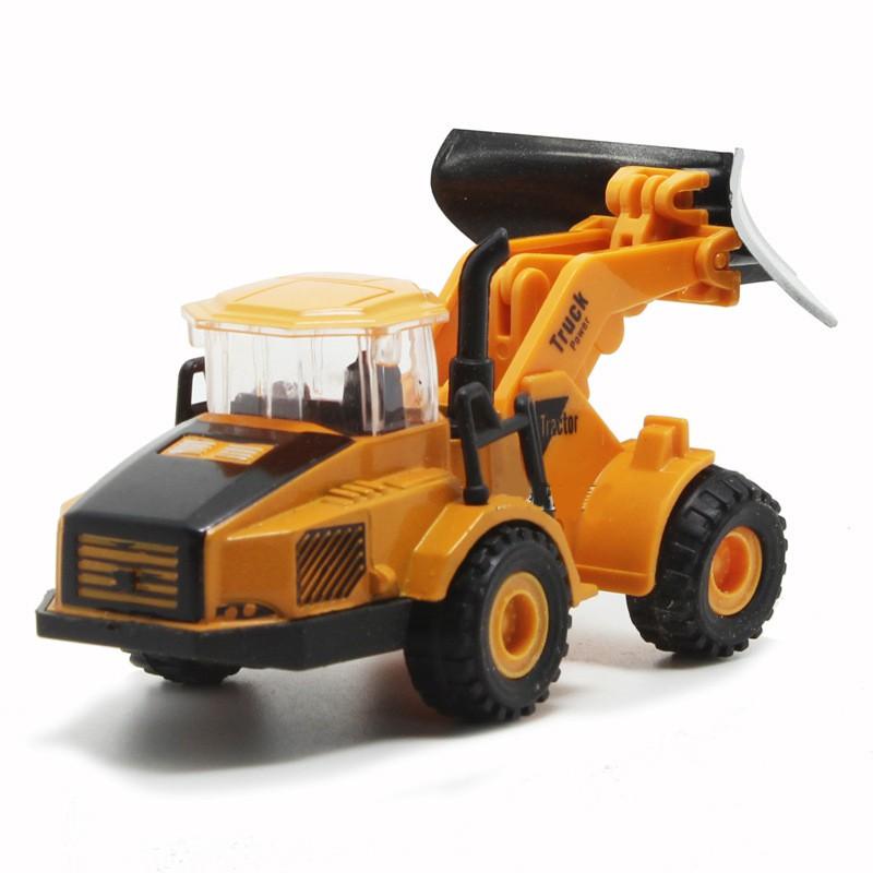 Xe mô hình sắt máy ủi đất, xe Lu, xe khoan, xe cào đất, xe nâng