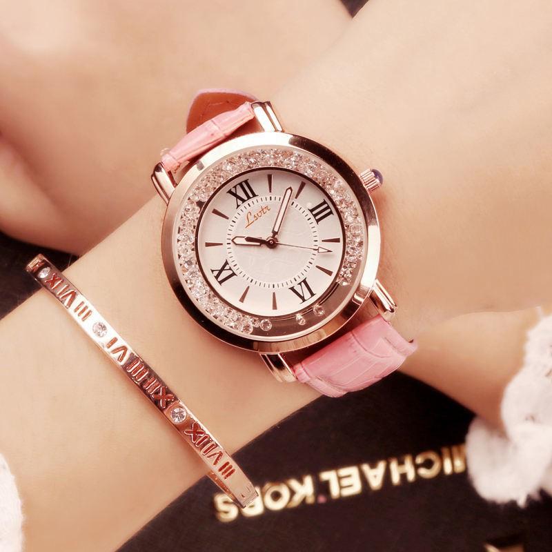 đồng hồ nữ mặt tròn dây da thời trang hàn - 14223378 , 2740696616 , 322_2740696616 , 160100 , dong-ho-nu-mat-tron-day-da-thoi-trang-han-322_2740696616 , shopee.vn , đồng hồ nữ mặt tròn dây da thời trang hàn