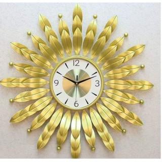 Đồng hồ treo tường mặt trời, đông hồ trang trí  WM263 chính hãng JJT , làm quà tặng tân gia , rât sành điệu bảo hành 12t