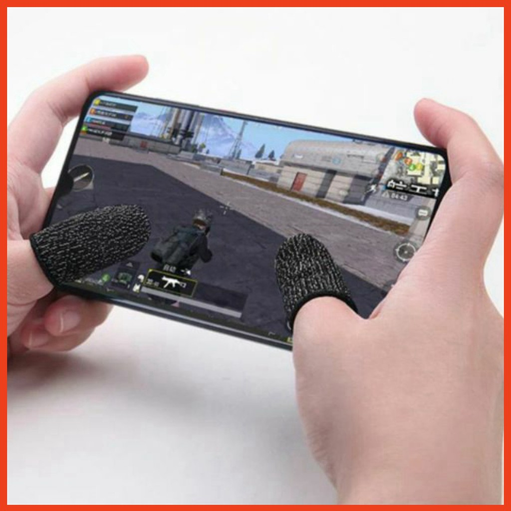 Găng tay cảm ứng chơi game chống mồ hôi cho điện thoại , máy tính b