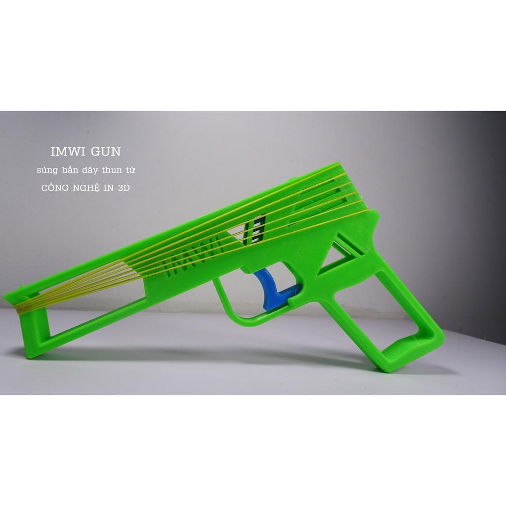 IMWI Gun – Súng bắn dây thun từ công nghệ in 3D