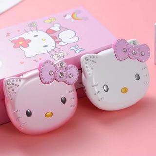 Điện thoại mèo máy kitty siêu xinh 2 sim 2 màu : tặng kèm sim