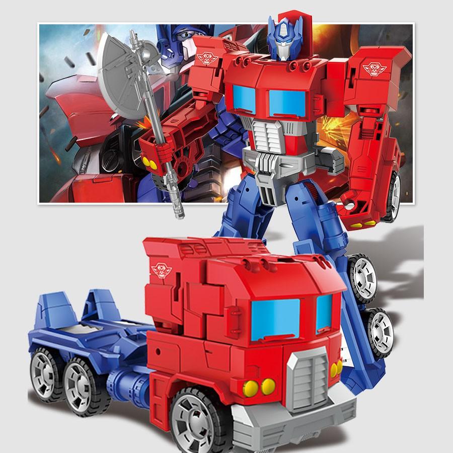 Mô hình robot biến hình Optimus Prime cao cấp
