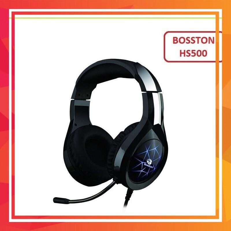 [Ưu Đãi giá Sốc] Phụ kiện máy tính tai nghe chuyên game Bosston HS500