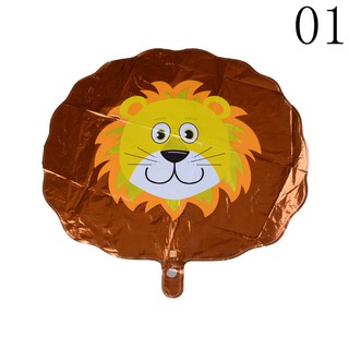 ☆VN Cute Animal Head Shape Foil Balloon Zoo Birthday Wedding Party Supply Baby Decor