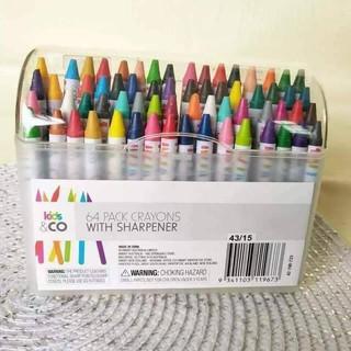 Bút Sáp Crayons 64 cây