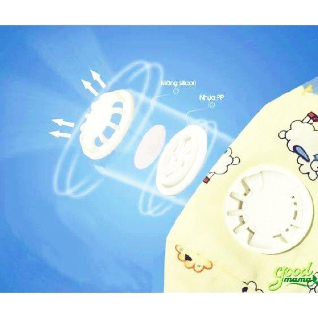 [BÃO GIẢM GIÁ] khâu trang kháng khuẩn cho bé goodmama   SẢN PHẨM HOT