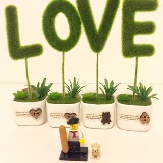 Lego Minifigure Anh chàng và chú chó