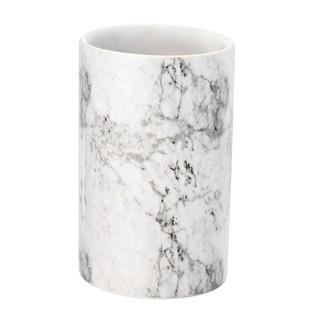 Cốc đựng bàn chải JYSK Jonstorp gốm màu đá cẩm thạch DK7x10.8cm