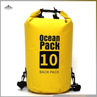 10LWaterproof Dry Bag Pack Swimming Rafting Canoing Boating Water Resistance