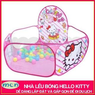 nhà bóng đồ chơi cho bé / lều bóng trẻ em Hello Kitty