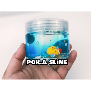 Slime Winter Duck – Chất clear slime