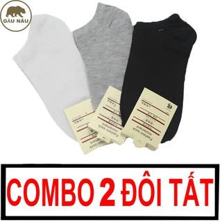 Combo 2 đôi tất GN318 vải cotton co giãn 4 chiều Gấu Nâu thumbnail