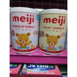 [NHẬP KHẨU CHÍNH HÃNG] Sữa bột Meiji số 0-1 1-3 lon 800g (Date luôn mới) thumbnail