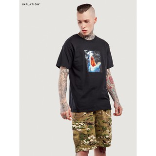 Horror spoof shark men's T-shirt