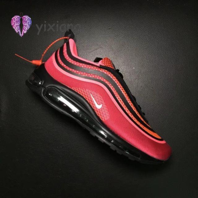 Nike Air Max 97 UL & X 27 17 Air Cushion รองเท้าสีแดง