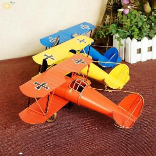 Vintage Aircraft Realistic Toys Miniature Collections Gifts Metal Iron Home Restaurant Office Decoration Airplane Model