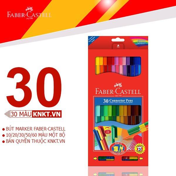 Bút marker FABER CASTELL 30 màu