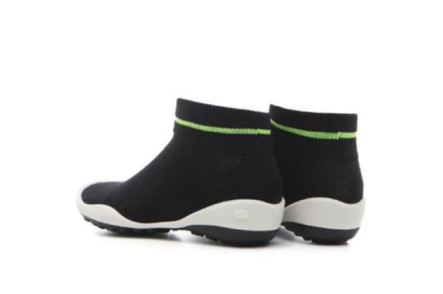 GGOMOOSIN CHÍNH HÃNG- Giày tất người lớn women shoes có cổ viền xanh