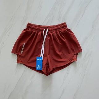 (Ảnh thật) Quần đùi bơi 2 lớp cho nữ, quần đùi thể thao nữ thumbnail