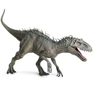 Jurassic World Movable Mouth Indominus Tyrannosaurus Rex Dinosaur Model Berserker Rex Toy For Boys Children Animal Figure