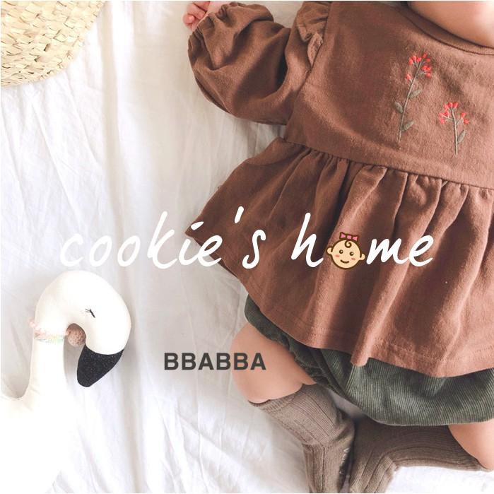 Mặc gì đẹp: Xinh xinh với Set áo và quần bí thêu hoa cho bé gái từ sơ sinh đến 15 tháng đi chơi tết, dự tiệc