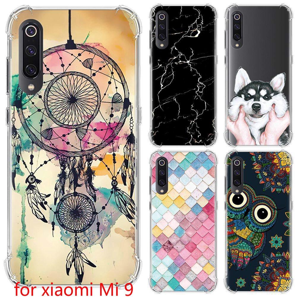 Fashion painting for xiaomi Mi 9 TPU soft case