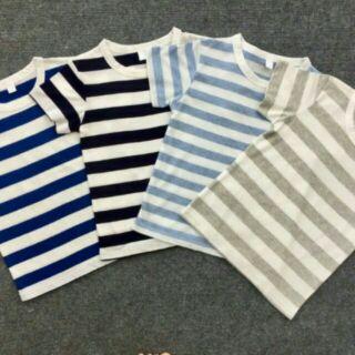 Áo phông cotton siêu mềm mịn mát cho bé 3-7 tuổi thumbnail