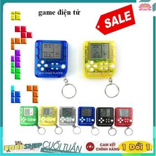 Máy chơi game mini cầm tay cổ điển -Kiêm móc treo chìa khóa (Màu ngẫu nhiên) thumbnail