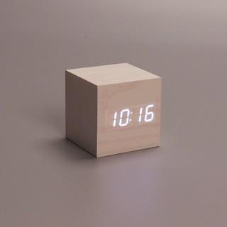 Đồng hồ led khối lập phương chức năng ngày tháng, giờ, nhiệt độ, báo thức