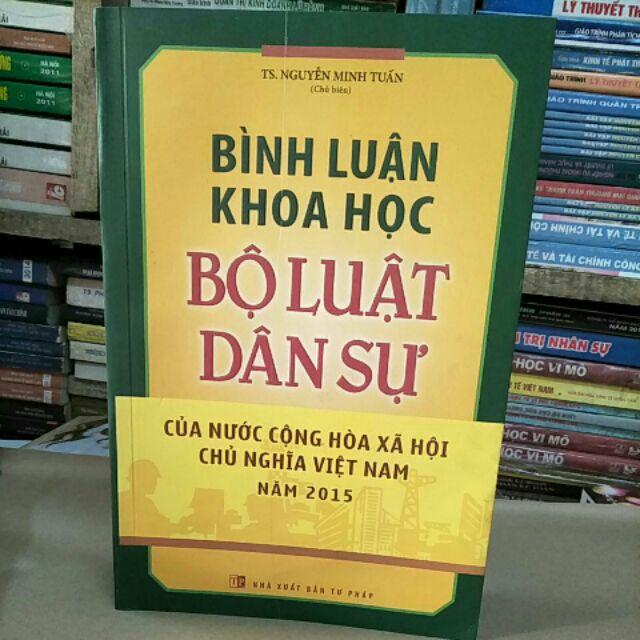 Sách : Bình Luận khoa học Bộ Luật Dân Sự của nước VHXHCN Việt Nam năm 2015 - 3287465 , 1050367921 , 322_1050367921 , 240000 , Sach-Binh-Luan-khoa-hoc-Bo-Luat-Dan-Su-cua-nuoc-VHXHCN-Viet-Nam-nam-2015-322_1050367921 , shopee.vn , Sách : Bình Luận khoa học Bộ Luật Dân Sự của nước VHXHCN Việt Nam năm 2015