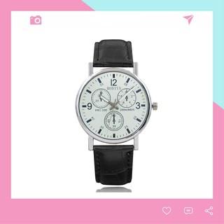 Đồng hồ đeo tay nam dây da Modiya lịch lãm Siêu đẹp DH97