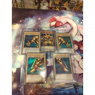 thẻ bài Yugioh Thần sức mạnh toàn chân thể 5 bộ phận Exodia – Ultra Rare – Tặng bọc bài nhựa bảo quản