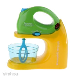Mini Home Appliance Kids Pretend Play Educational Kitchen Toy -Blender