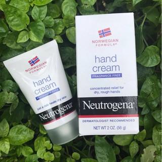 Kem tay Neutrogena Hand cream Fragrance free (56g)