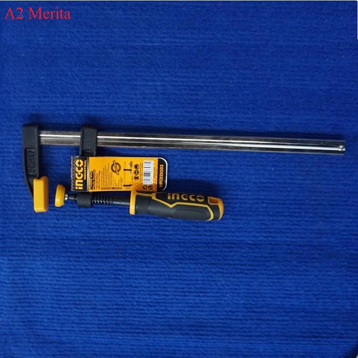 50x250mm Cảo chữ F INGCO HFC020503