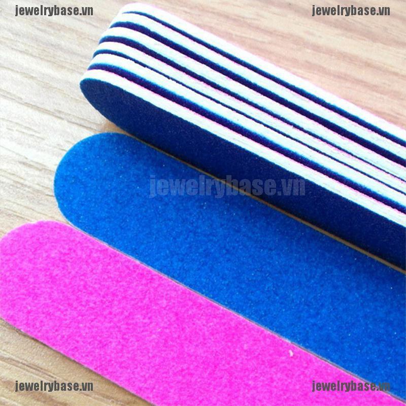 Set 5 que giũa móng gel UV tiện dụng cho salon