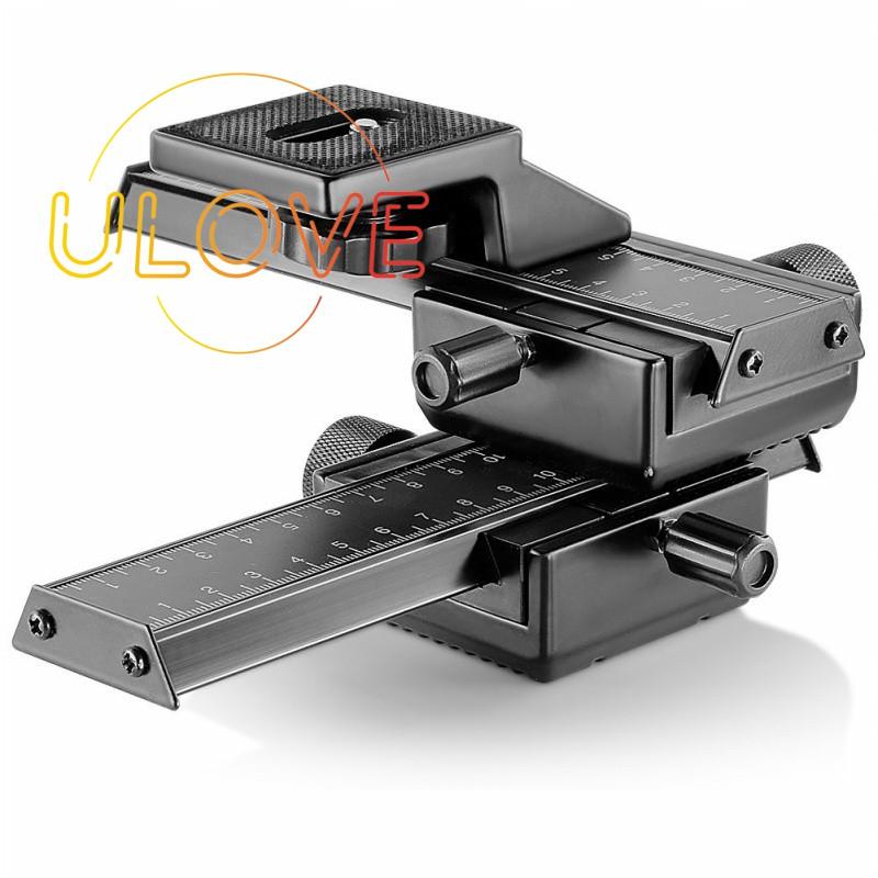 Rail 4-way Macro Focus for Canon DSLR Cameras Nikon Sigma