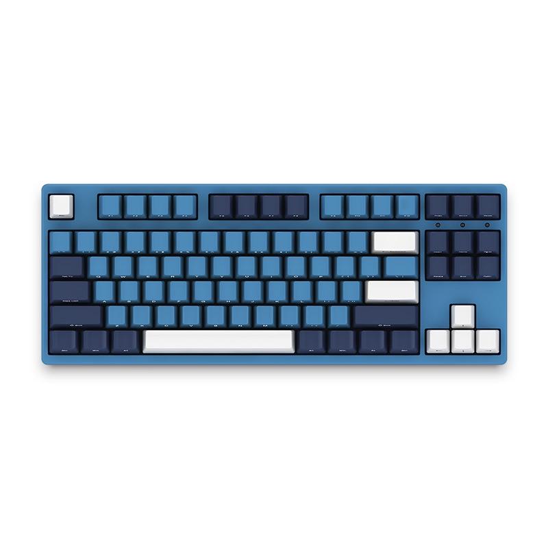 AKKO 3087SP Ocean Star 87 Key NKRO Type-C Wired Cherry MX Switch PBT Keycaps Mechanical Gaming